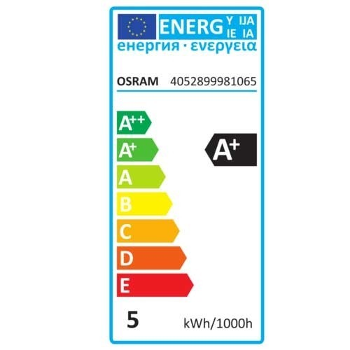 OSRAM Lot de 2 Spots LED PAR16 GU10 36° 230V 4,3W 350lm