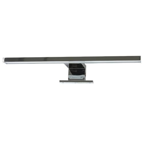 Applique LED salle de bain pour miroir 230V 8W 600lm 4000°K 500mm chromé