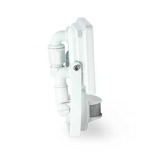 Projecteur extérieur LED à détection 230V 10W 900lm 4000°K blanc extra plat