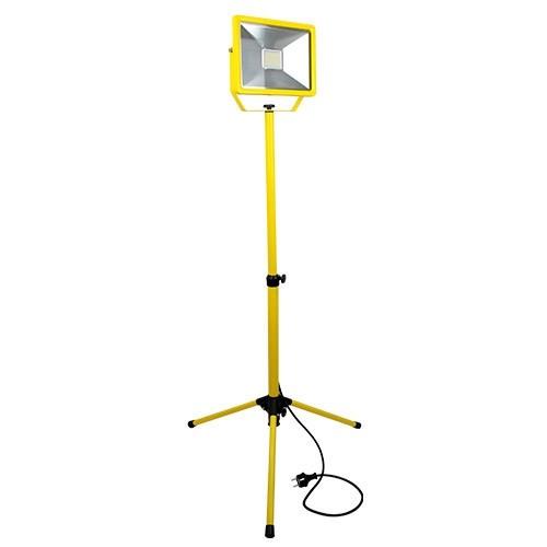 Projecteur LED de chantier sur trépied 230V 50W 4500lm 4000°K IP65
