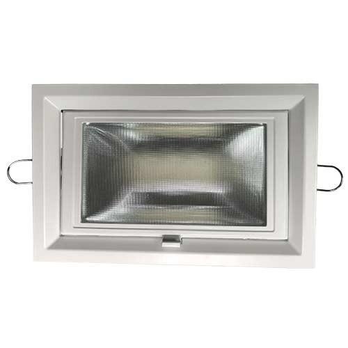 spot led escamotable encastrable et orientable 35w 3500lm blanc. Black Bedroom Furniture Sets. Home Design Ideas