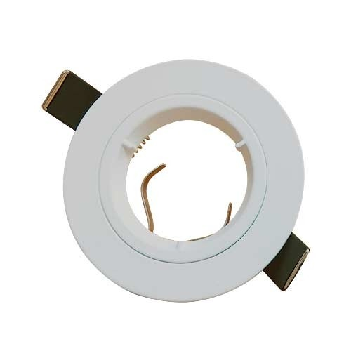 Lot de 3 spots LED encastrables 85mm GU10 230V 2700°K blanc 3x5W 380lm