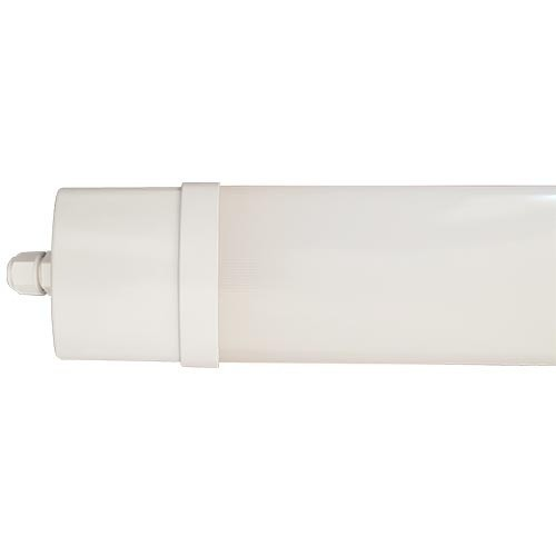 Réglette LED intégrée étanche blanc 230V 36W 3300lm 120cm