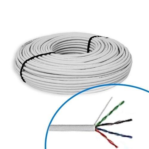 Câble informatique catégorie 5 F/UTP 100Mhz - Couronne de 100m