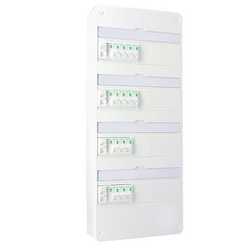 SCHNEIDER Resi9 XP Tableau électrique prééquipé 4 rangées 4ID 40A 14 disjoncteurs