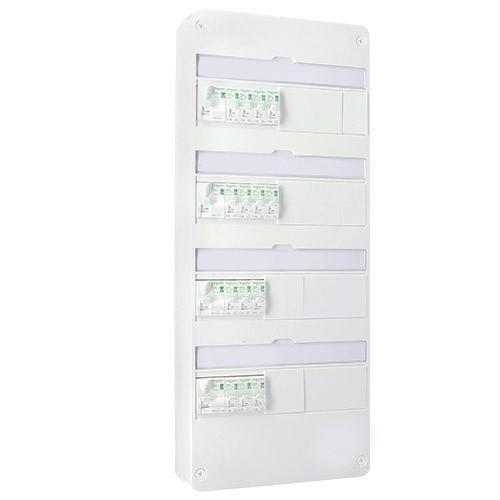 tableau lectrique pr quip schneider auto 13 modules 4. Black Bedroom Furniture Sets. Home Design Ideas