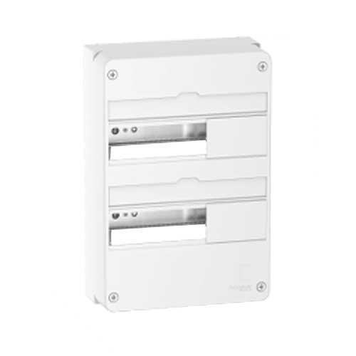 SCHNEIDER Resi9 Tableau électrique 2 rangées de 13 modules