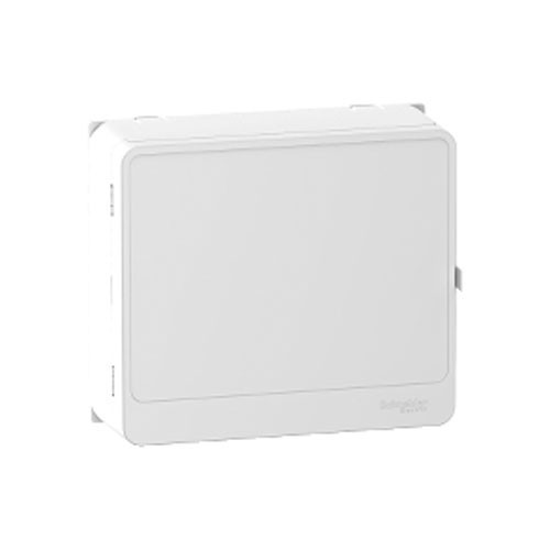 SCHNEIDER Resi9 Habillage + porte styl blanc pour panneau de contrôle et bloc de commande - R9H13418
