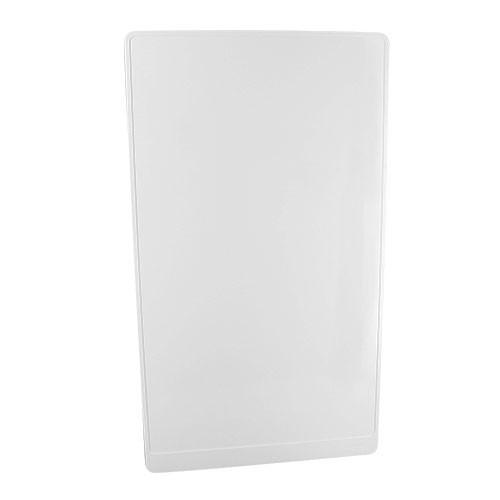 SCHNEIDER Resi9 Porte Styl blanche pour tableau électrique 18 modules 4 rangées