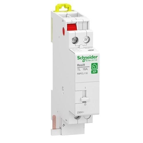 SCHNEIDER Resi9 XP Télérupteur 16A 1NO monophasé - R9PCL116