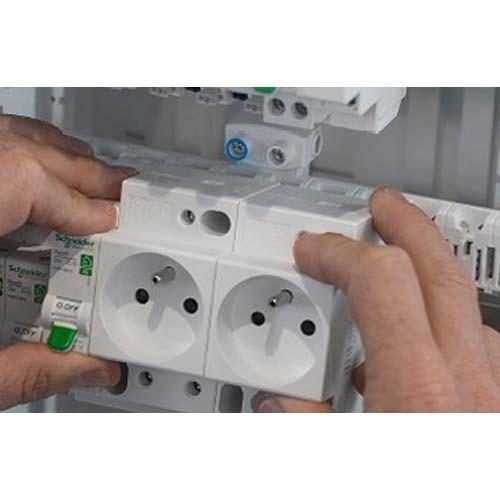 prise de courant 2P+T Modulaire Schneider Electric 250V 16A Resi9 XP