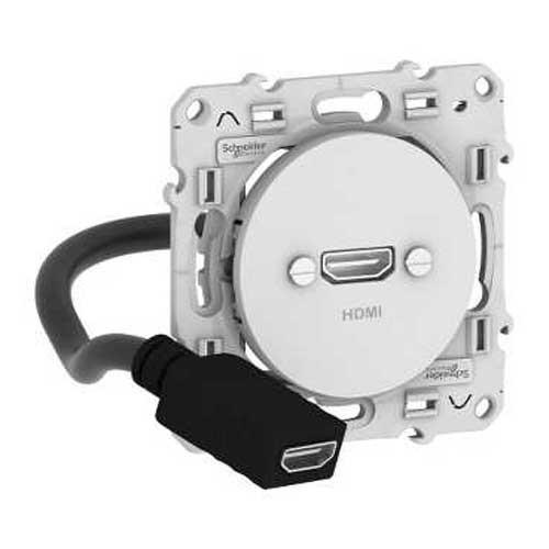 SCHNEIDER Odace Prise HDMI - S520462 - 2