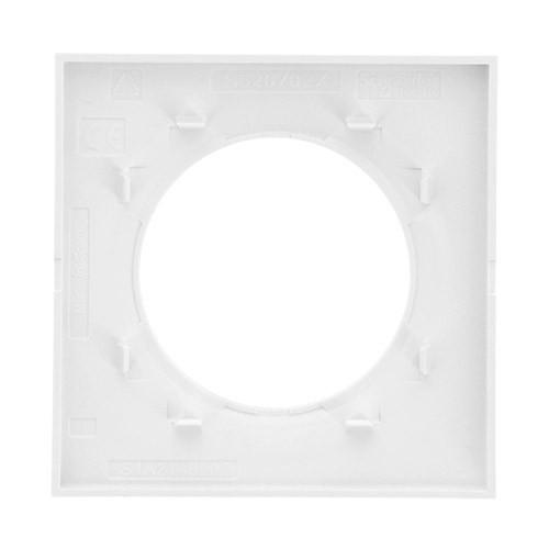 SCHNEIDER Plaque simple blanche Odace