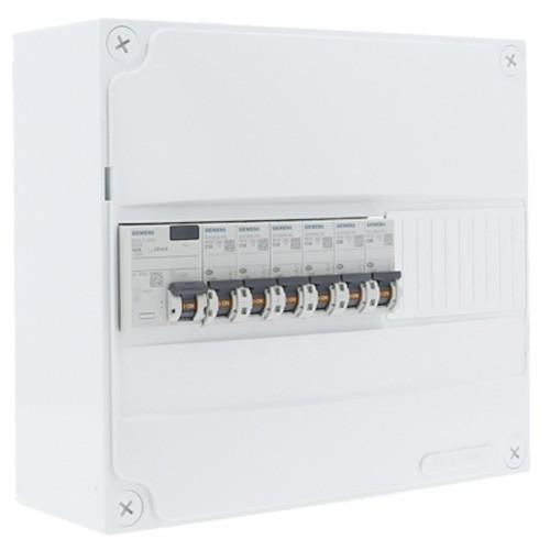 SIEMENS Tableau électrique pré-équipé 1 rangée