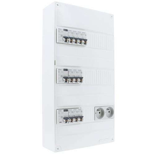 SIEMENS Tableau électrique pré-équipé 3 rangées 3ID