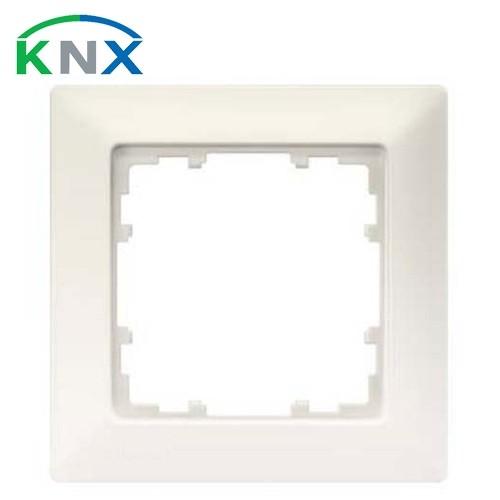 SIEMENS KNX Delta Line plaque simple blanc titane 80X80mm