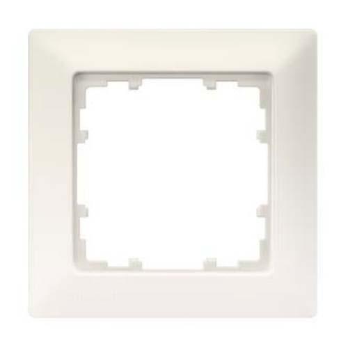 SIEMENS KNX Delta Line plaque simple blanc titane 80X80mm - 2