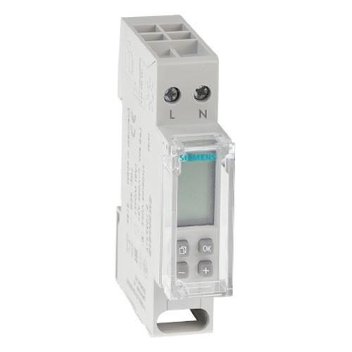 SIEMENS Horloge hebdomadaire 16A monophasé numérique 1 module