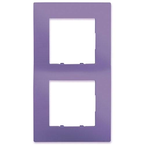 SIEMENS Delta Viva Plaque double - Violet - 2