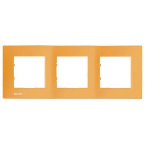 SIEMENS Delta Viva Plaque triple - Orange