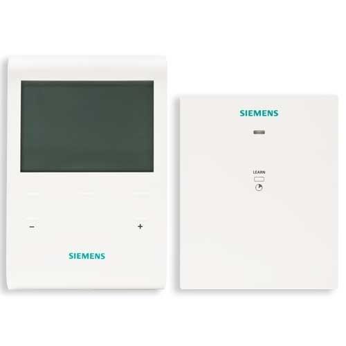 thermostat d 39 ambiance sans fil 1 r cepteur siemens. Black Bedroom Furniture Sets. Home Design Ideas