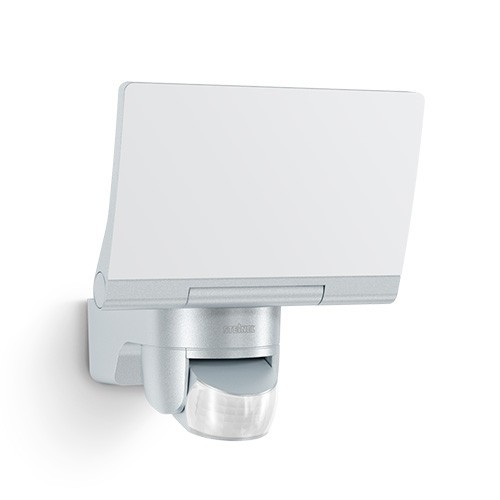 STEINEL Projecteur extérieur LED XLED Home 2 à détection 230V 14,8W 1184lm 4000°K argent - 033057