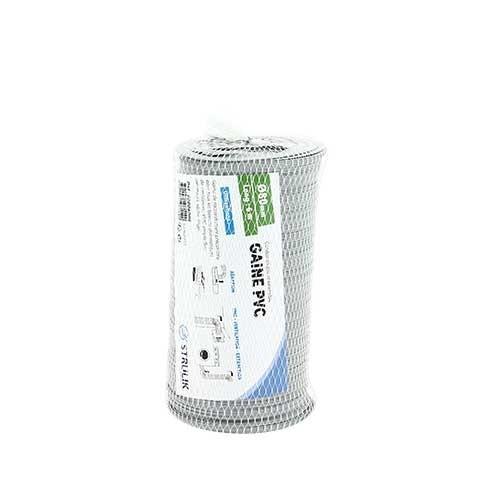 Gaine VMC souple en PVC - 60008006 - L6m D80mm