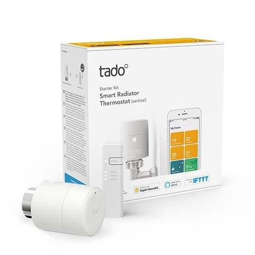Vanne thermostatique connectée et intelligente - kit de démarrage TADO V3+