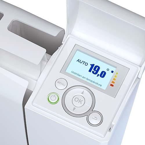THERMOR Bilbao 3 Radiateur électrique connecté 1000W horizontal blanc - 493831