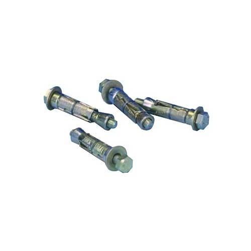 TONNA Cheville métallique et vis diam. 8 mm (lot de 4)