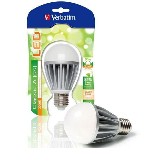 VERBATIM Ampoule LED à vis E27 6W 380lm 230V - 3