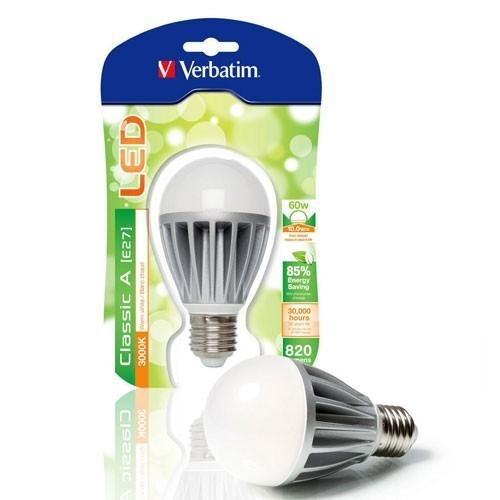 VERBATIM Ampoule LED à vis E27 10W 820lm 230V - 3