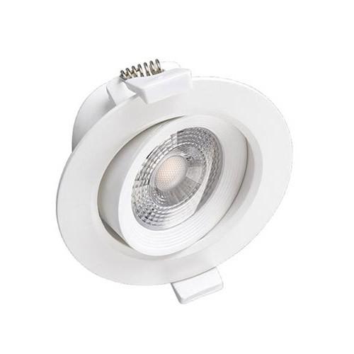 VISION-EL Spot LED encastrable et orientable 230V 7W 550lm 3000°K blanc - 76323