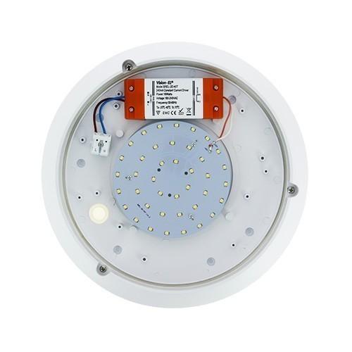 VISION EL Plafonnier LED 18W 230V 3000°K classe 1 - 2