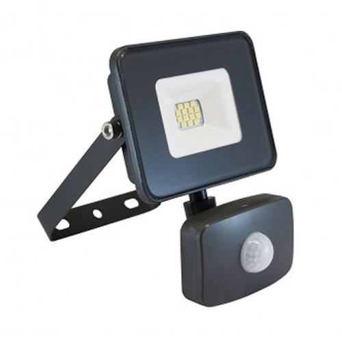 VISION-EL Projecteur extérieur LED extra plat à détection 230V 10W 880lm anthracite - 80302