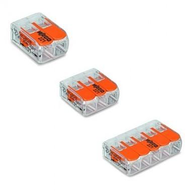 WAGO S221 Blister panaché de 40 bornes de connexion automatique 2, 3 et 5 fils - 3