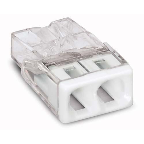 WAGO Pot de 100 mini-bornes de connexion 2 fils S2273 - 3