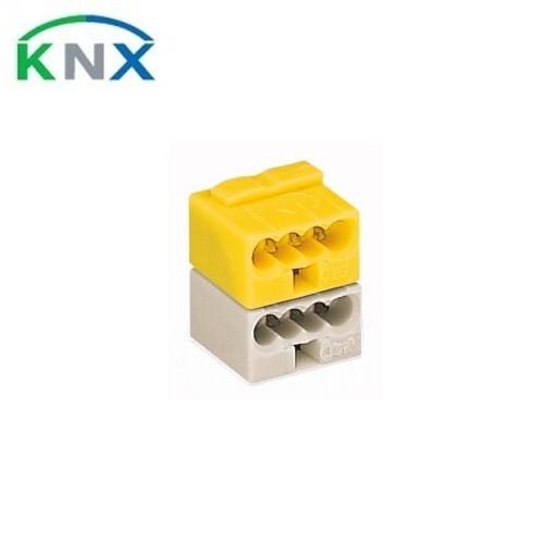 WAGO KNX Borne de bus 2 pôles jaune et blanc - 243-212