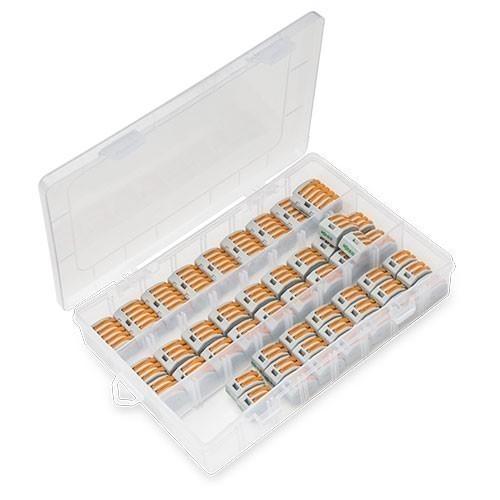 WAGO Valisette 50 bornes de connexion automatique S222 pour fils souples et rigides - 2