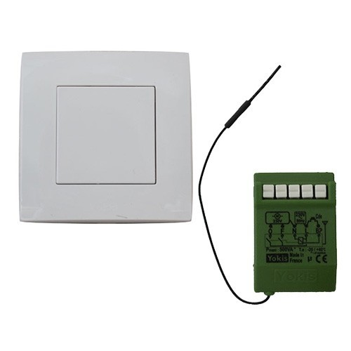 YOKIS Power Kit radio volet roulant télécommande et micro-module volet roulant - KITRADIOVRP