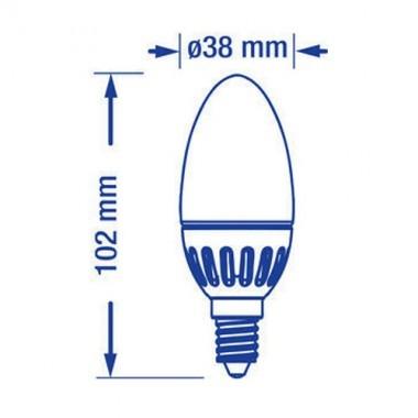 VERBATIM Ampoule LED à vis E14 3.8W 200lm 230V - 4