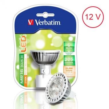VERBATIM Ampoule LED GU5.3 6W 225lm 12V