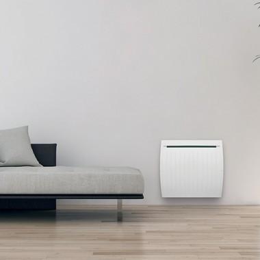 radiateur inertie mixte horizontal blanc 1500w airelec. Black Bedroom Furniture Sets. Home Design Ideas