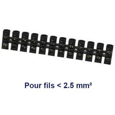 Barrette dominos de connexion 2.5mm² - 2