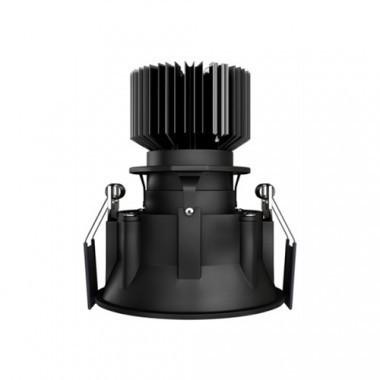 Spot LED BENEITO FAURE encastrable et orientable Tao 10W 675lm 3000°K noir