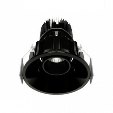 Spot LED encastrable et orientable BENEITO FAURE Tao 10W 675lm 3000°K noir