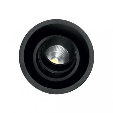 Spot LED encastrable et orientable Tao 10W 675lm 3000°K noir BENEITO FAURE