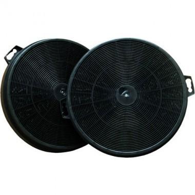 Lot de 2 filtres charbon actif pour hotte de cuisine dmo 94198 - Image hotte de cuisine ...