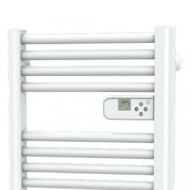DREXON Stretto Sèche-serviettes électrique étroit blanc 600W - thermostat