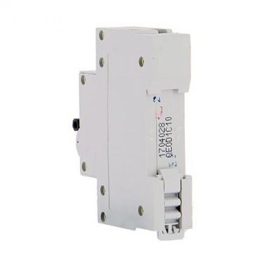 EUROHM Disjoncteur electrique 10A 1P+N NF